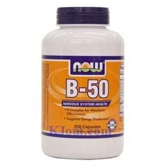 Now Foods牌复合维生素B-50胶囊 250粒图片