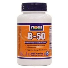 Now Foods牌复合维生素B-50胶囊 100粒图片