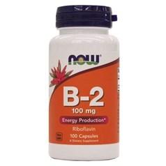 Now Foods牌维生素B-2核黄素胶囊 100毫克 100粒图片