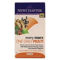 New Chapter新章牌男人一日一粒复合维生素片 48粒图片