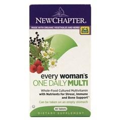 New Chapter新章牌女人一日一粒复合维生素片 48粒图片