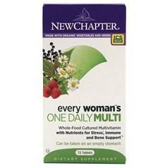 New Chapter新章牌女人一日一粒复合维生素片 72粒图片