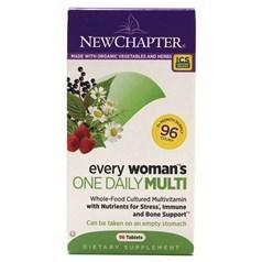 New Chapter新章牌女人一日一粒复合维生素片 96粒图片