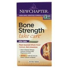 New Chapter新章牌有机紅藻植物钙强骨片 60瘦长粒图片