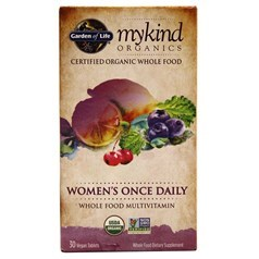 Garden of Life牌mykind有机系列女士一日一粒复合维生素片 30粒图片