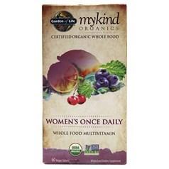 Garden of Life牌mykind有机系列女士一日一粒复合维生素片 60粒图片