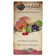 Garden of Life牌mykind有机系列女士复合维生素片 120粒图片