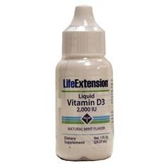 Life Extension牌维生素D3滴剂 2000单位 29毫升图片