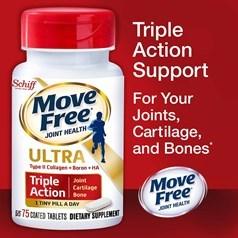 Schiff® Move Free Ultra 骨胶原维骨力胶原蛋白 75粒图片