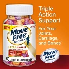 Schiff® Move Free Ultra 60粒咀嚼片图片