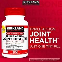 Kirkland牌 维骨力 110粒图片