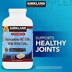 Kirkland牌 葡萄糖胺 + 二甲基砜 375粒图片