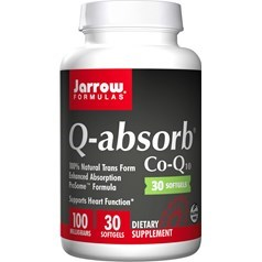 Jarrow Formulas牌容易吸收辅酶Q10液体胶囊 100毫克 30粒图片