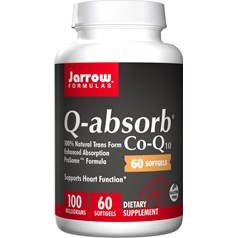 Jarrow Formulas牌容易吸收辅酶Q10液体胶囊 100毫克 60粒图片