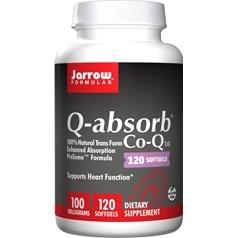 Jarrow Formulas牌容易吸收辅酶Q10液体胶囊 100毫克 120粒图片