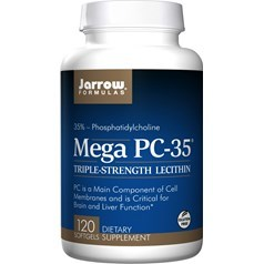 Jarrow Formulas牌Mega PC-35卵磷脂软胶囊 120粒图片