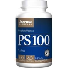 Jarrow Formulas牌PS-100磷脂酰丝氨酸软胶囊 100毫克 60粒图片