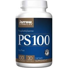 Jarrow Formulas牌PS-100磷脂酰丝氨酸软胶囊 100毫克 30粒图片