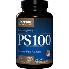 Jarrow Formulas牌PS-100磷脂酰丝氨酸软胶囊 100毫克 120粒图片