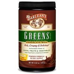Barlean's牌有机绿色蔬菜粉(巧克力味) 270克 三十天量图片