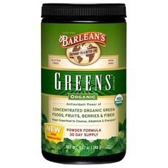 Barlean's牌浓缩有机绿色水果蔬菜粉(原味) 240克 三十天量图片