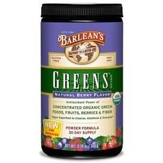 Barlean's牌浓缩有机绿色水果蔬菜粉(莓果味) 250克 三十天量图片