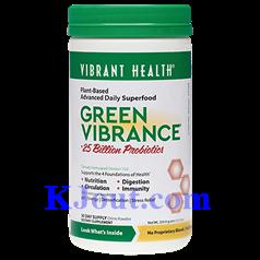 Vibrant Health牌浓缩绿色有机饮料粉  360克 三十天量图片