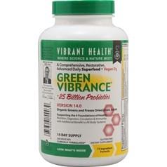Vibrant Health牌绿色有机天然营养补充剂胶囊  240粒 十五天量图片