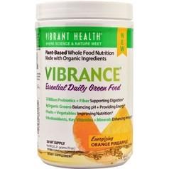 Vibrant Health牌Vibrance系列每日关键绿色营养饮料粉(橘子菠萝味)  255克  三十天量图片