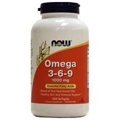 Now Foods牌Omega 3-6-9软胶囊 250粒图片