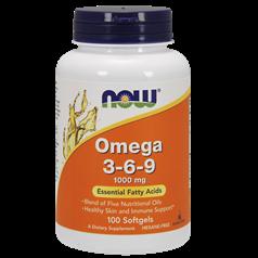 Now Foods牌Omega 3-6-9软胶囊 100粒图片