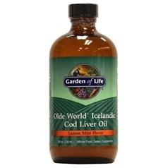 Garden of Life牌Olde World冰岛鳕鱼鱼肝油 柠檬薄荷味 236毫升图片