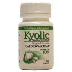 Kyolic牌大蒜精心脏血管配方100片 600毫克 100粒图片