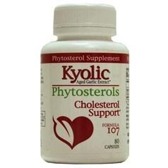 Kyolic牌增大蒜精调节胆固醇配方107胶囊 80粒图片