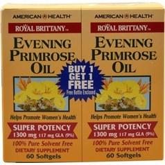 American Health牌Royal Brittany系列月见草油软胶囊 1300毫克 60+60粒图片