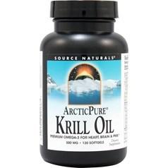 Source Naturals牌纯北极磷虾油软胶囊 500毫克 120粒图片