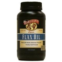 Barlean's牌木酚素亚麻籽油软胶囊 250粒图片
