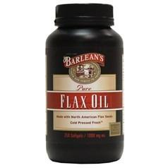 Barlean's牌纯亚麻籽油软胶囊 250粒图片