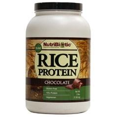 NutriBiotic牌有机大米蛋白粉 巧克力味 1360克 85次用量图片