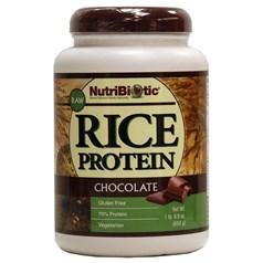 NutriBiotic牌有机大米蛋白粉 巧克力味 650克 40次用量图片