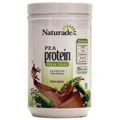 Naturade牌豌豆蛋白质粉奶昔 巧克力味 468克 12天用量图片