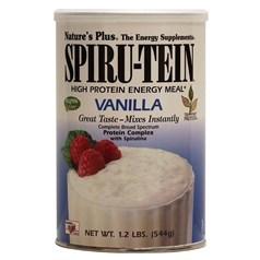 Nature's Plus牌Spirutein系列复合维生素高植物蛋白能量奶昔 香草味 544克 16次用量图片