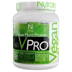 NutraKey牌VPRO 系列有机植物蛋白粉奶昔 巧克力味 465克 18天用量图片