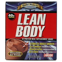Labrada牌Lean Body健身增肌系列高蛋白代餐奶昔 巧克力味 1580克 20小包图片