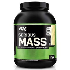 Optimum Nutrition牌Serious Mass增肌系列高蛋白增肌粉 香草味 2720克 图片