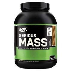 Optimum Nutrition牌Serious Mass增肌系列高蛋白增肌粉 巧克力花生味 2720克 图片
