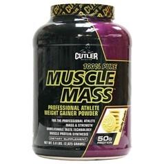 Cutler Nutrition牌Muscle Mass专业运动员增肌蛋白粉 香草味 2625克 图片