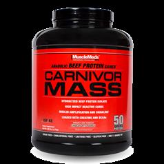 MuscleMeds牌Carnivor Mass系列增肌水解分离牛肉蛋白粉 巧克力味 2534克 图片