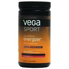 Vega 牌Sports运动系列植物蛋白训练前能量补剂 巴西莓味 540克 30次用量图片