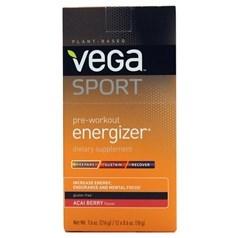 Vega 牌Sports运动系列植物蛋白训练前能量补剂 巴西梅味 12次用量图片